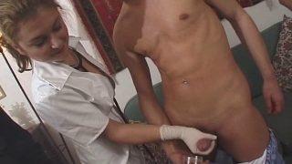 Pipe et sperme dans la bouche